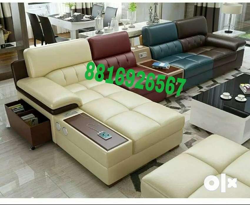 Multicoloured sofa set 0