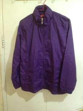 Jaket wanita warna ungu allsize S fit M