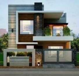 Duplex 4bhk newly built Kothi 250 Gajj at Pakhowal Road