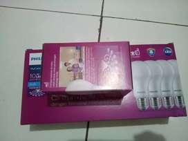 Lampu Led Philips 10 Watt Paket isi 4