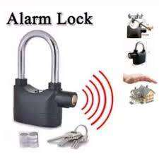 Secure Anti Theft Motion Sensor Alarm Lock for Home,Office and Bikes