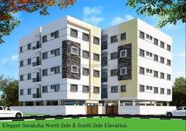 2 BHK Semi-Furnished Flats For Sale At Beeramguda