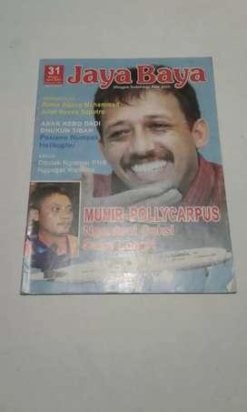 Jaya Baya - cover Munir
