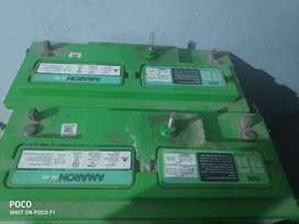 2 amaron 150 tubular batteries and 1400 VA inverter for sale