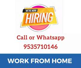 Part time/ Full time jobs. Data entry. Simple typing. Earn daily 1000