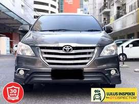 [Lulus Inspeksi] [DP43] Toyota Kijang Innova 2.0 V Luxury AT 2015 Grey