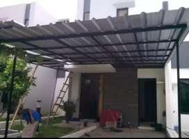 Kanopi baja ringan atap spandek 6066@$&