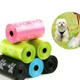 Kantong Plastik Sampah Gulung Refill Untuk Kotoran Pup Anjing Kucing