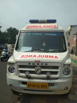 Ambulance for rent/lease(75k/month)