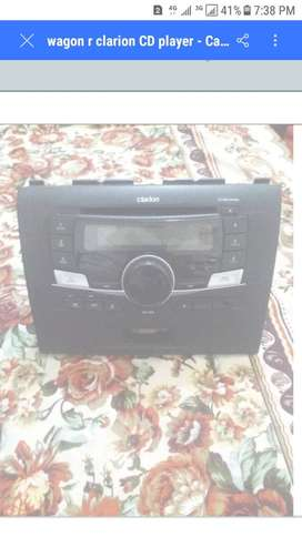 wagon r clarion cd deck