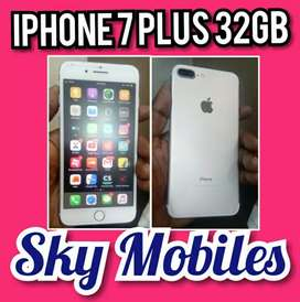 Iphone 7 Plus 32gb gold genuine and good condition, SKY MOBILES