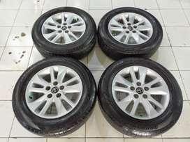 Free Ongkir Velg Copotan Mobil INOVA REBORN + BAN DUNLOP 205 65 R16