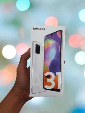 New Samsung A31 garansi resmi sein 1th