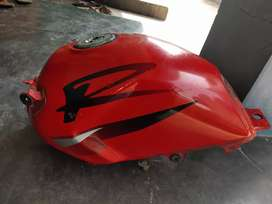 Karizma r petrol tank allow wheels and other spare parts available