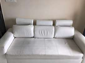 Leatherite sofa 3+2