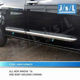 List Lis Chrome Body Pintu Samping Innova Reborn Venturer