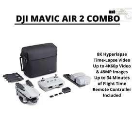 READY DJI MAVIC AIR 2 COMBO !!! GARANSI RESMI TAM