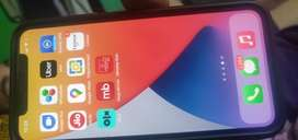 Iphone X 64 GB Silver with glass finish