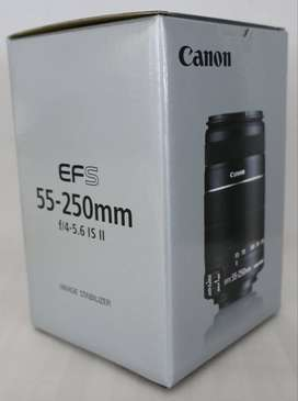canon camera lens 55*250 for urjent sell