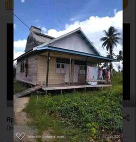 BU Dijual rumah kayu 2 pintu+ kandang walet