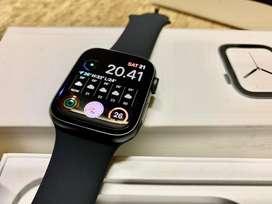 Apple Watch 5 Black Grey 44mm Garansi Aktif 2020 Mulus 44 mm