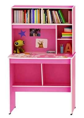 Meja Belajar Activ Happy Kitty MB 80 (Pink - Line Pink)