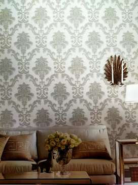 Wallpaper vynil ukuran  53cm x 10m