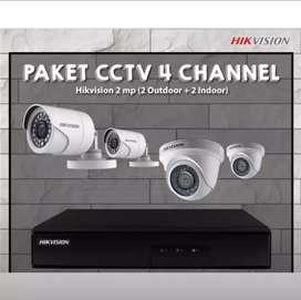 Agen ~> CCTV 2 mp 4 Ch pul Hd. Di Bekasi