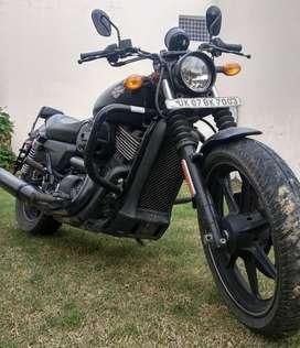 Harley  davidson. Street  750.matte black