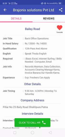Front executive required in school ,girls only apply for the position
