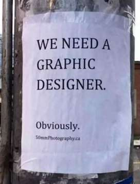 We need full time graphic designer (t-shirt design)