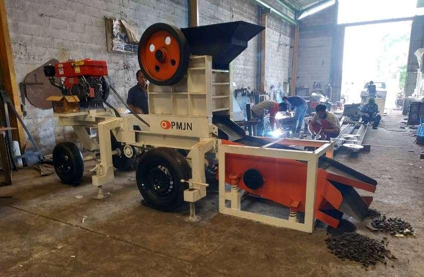 jual mesin pemecah batu stone crusher mini asli berkualitas type 3040 0