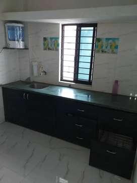 1 bhk Semifurnished Tenament floor on rent at Vastrapur Crossing