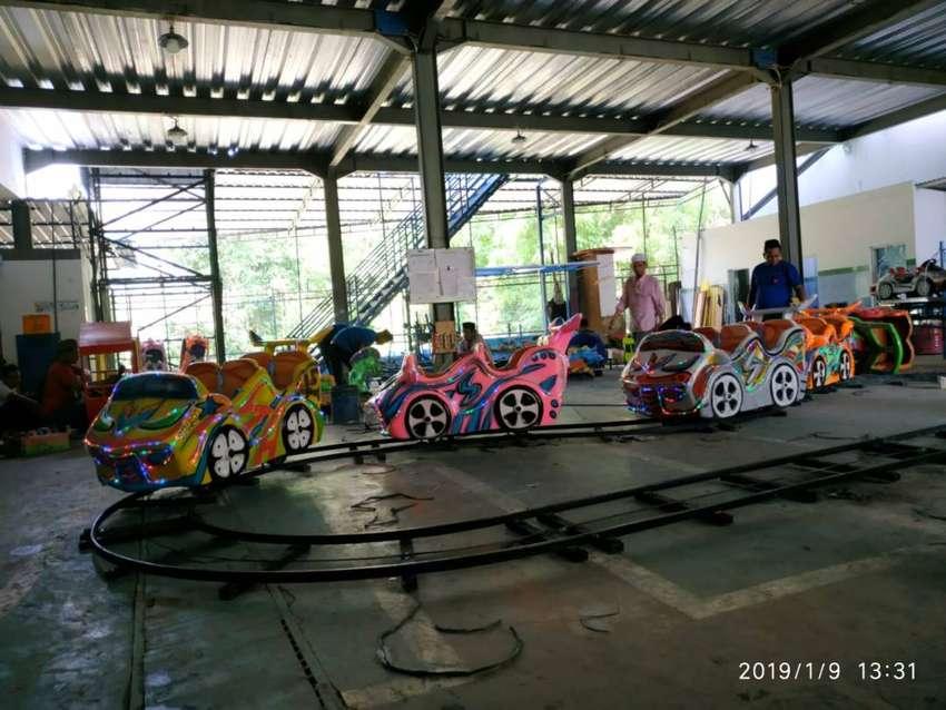 06 kereta mini coaster odong odong siap operasi 0