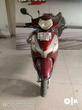 Honda Aviator 2008 Model 25022 Km driven