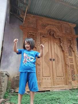 cuci gudang pintu gebyok gapuro jendela rumah masjid musholla afida
