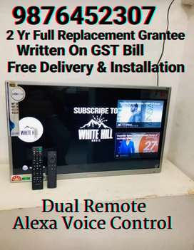 40 Smart Alexa Voice Control Led Tv 2 Yr Full Replacement Grantee Bill