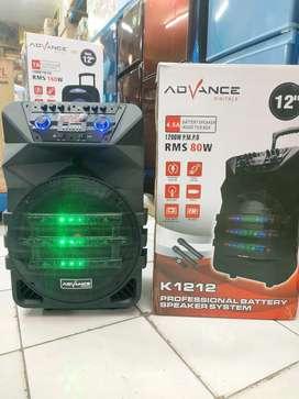 Speaker portabel bluetooth advance K1212