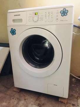 Samsung  Front load washing machine.
