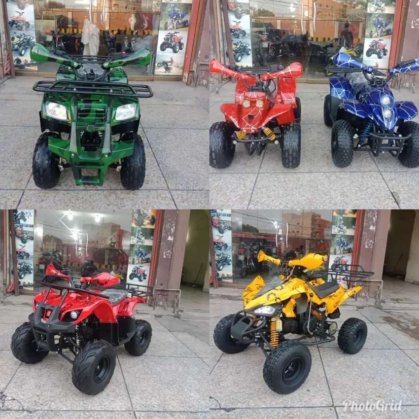 All Models And Size ATV QUAD 4 Wheel Bike Available At One Place 0