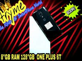 TRYME 8GB RAM/128GB ONE PLUS 6T Full Kit Box Brand New Conditions
