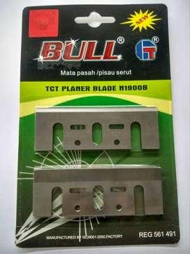 Pisau Planer TCT 10mm New Blade Blister Bull