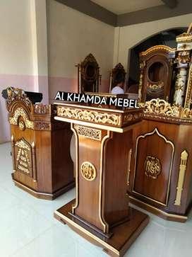 Ready Mimbar Musholla Kerajinan Jepara @50