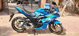 Suzuki Gixxer SF DUAL DISC ABS BLUE FOR JUST Rs.84000/- EMI AVAILABLE