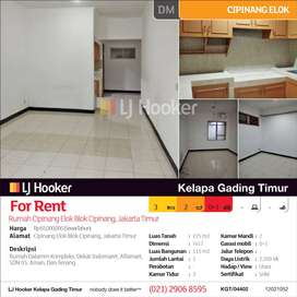 Rumah Cipinang Elok Cipinang, Jakarta Timur