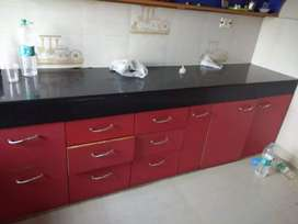 A 3 bhk well decorate semi furnished flat in boring road for sale .