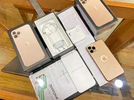 iphone 11pro 256gb gold garansi ibox