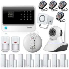 Security Alarm System GSM and WiFi