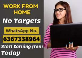 Golden opportunity to earn excellent salary by sitting at home.