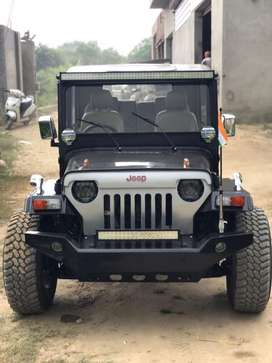 Modified Open willys jeep